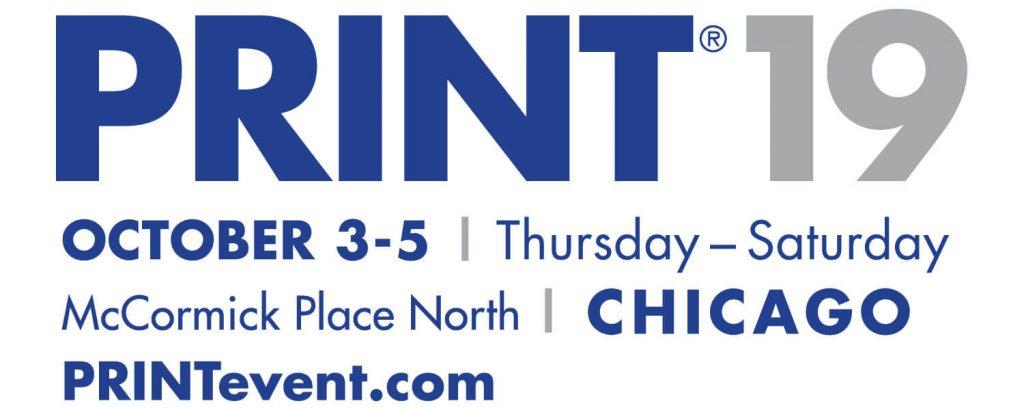 Print 19 Logo Chicago Blue