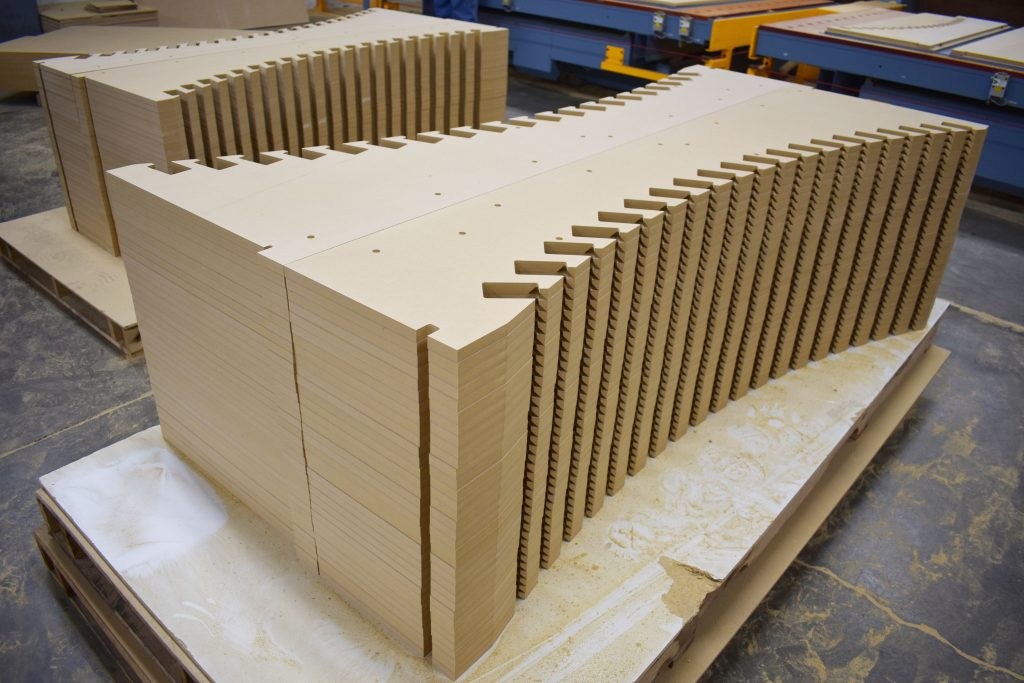 Large wood component