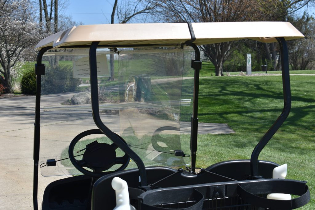 Golf Cart Partition