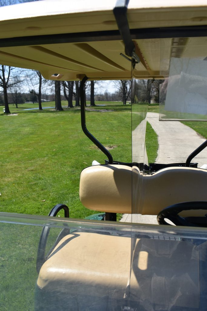 Golf Cart Partition - Front