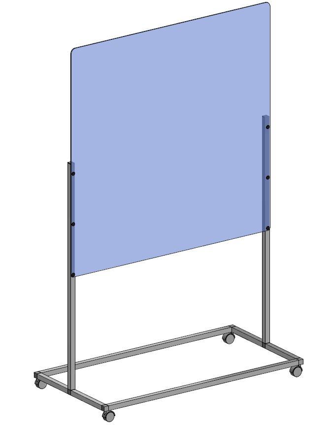 Portable Freestanding Divider