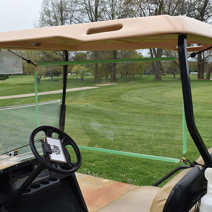 Golf Cart Partition