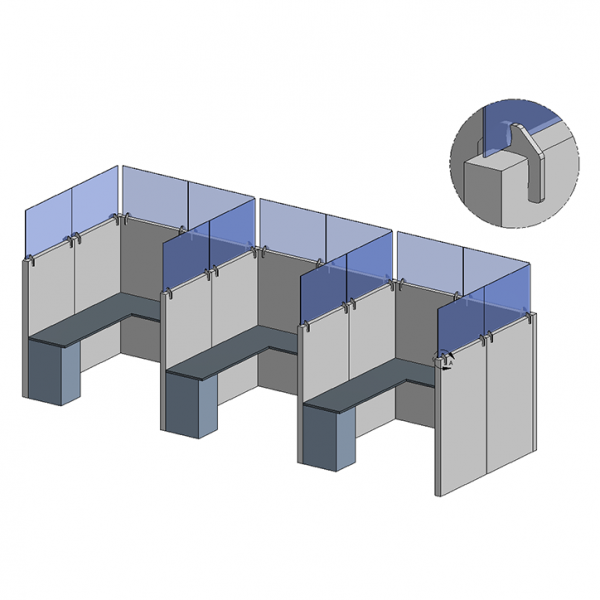 Cubicle Extender