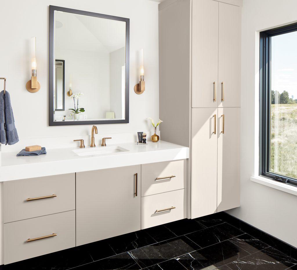 J0748beigearizona Bathroom Vanity